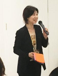トーク中の中澤さん