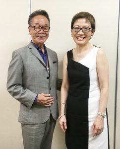 シンシアさんと稲葉さん