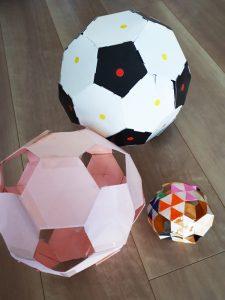 穴あきサッカーボール